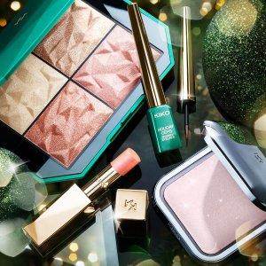 全场5折 网络周一惊喜特促Kiko Milano 全场彩妆护肤热卖 收圣诞限定彩妆