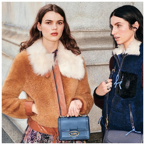 封面款Shearling羊羔外套 5折到手仅€850COACH官网季末大促 外套服饰低至5折 这几年服装线开挂了
