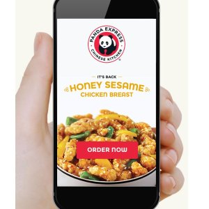 FreeSmall Orange Chicken Entree w/ Any Online Item Purchase