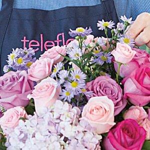 满$50减$10最后一天:Teleflora 官网鲜花促销,新用户特惠