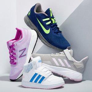 3.4折起Nordstrom Rack 儿童运动鞋促销 成人可穿大童款