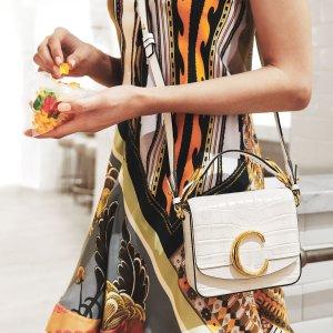 定价优势+低至8.5折Chloe 精选美包热卖 入新款C mini方块包