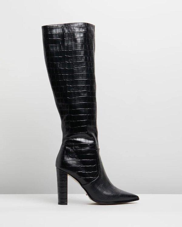 Lucille过膝靴