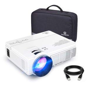 $89.99(原价$109.99)Vankyo Leisure 3 2400 Lux LED 便携投影仪 秒变影院