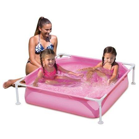 4' 金属框架塑料小泳池