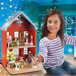 25% Off $50Playmobil Christmas Toys Sale