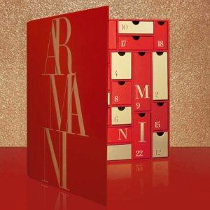 限时8.5折+送神秘盒子 仅€248收惊喜上新:Armani 阿玛尼 2020圣诞日历 含红管#405等6个正装