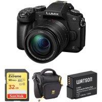 Panasonic Lumix DC-G85 + 32GB SD + 电池 + 包