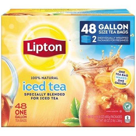 经典红茶茶包1加仑装 48包
