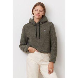 Filaember crop hoodie