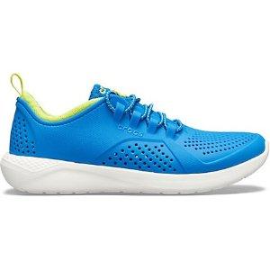 CrocsLiteRide™ 大童运动鞋  亮蓝色