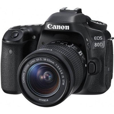 EOS 80D+18-55mm for $799.99