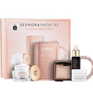 变相4.6折 仅€39.9(价值€87)补货啦!Sephora 年度挚爱奢华礼包 含CT面霜、小棕瓶等6件