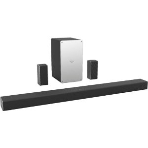 VIZIO - SmartCast 5.1 Channel Sound Bar System with 5-1/4