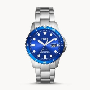 Extra 40% OffFB-01 Three-Hand Date Stainless Steel Watch