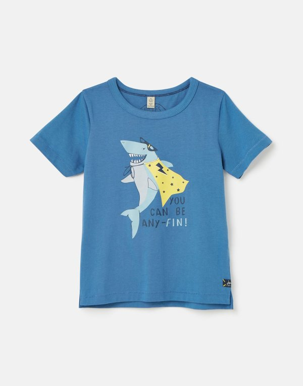 儿童修身版印花T恤