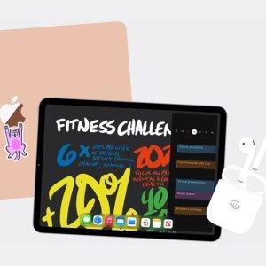 AppleCare +立享8折Apple官网 返校季学生优惠 购Mac、iPad送Airpods