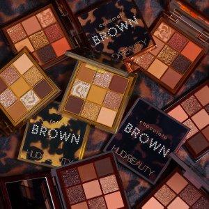 已发售 现价$36上新:Huda Beauty 棕色Obsessions眼影盘 太妃、焦糖、巧克力