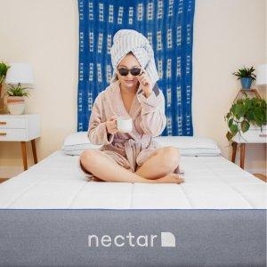 立减$125+2个免费枕头Nectar 全场高品质记忆棉床垫黑五大促