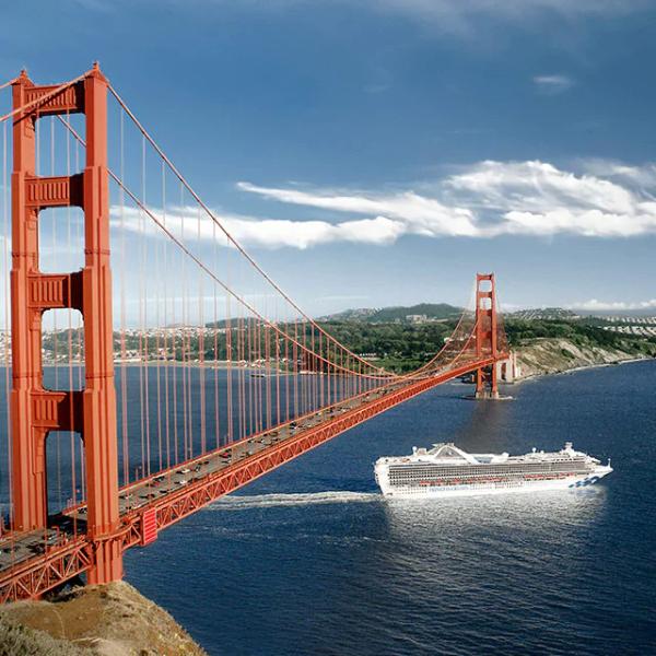 加州海岸线游轮