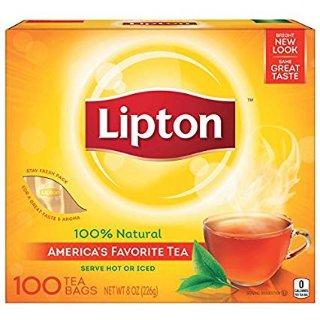 $2.99Lipton Black Tea Bags, 100% Natural Tea, 100 ct @ Amazon