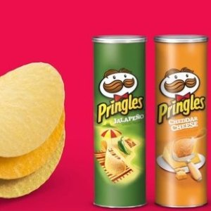 $1收小罐装Pringles 品客薯片  多口味  馋嘴、追剧好拍档