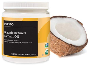 $6.3(原价$9.72)+包邮白菜价:亚马逊自营有机提炼椰子油 30oz
