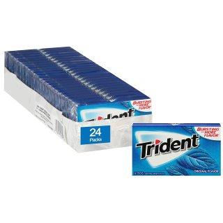 $10.85Trident  无糖木糖醇口香糖 24包 共336片