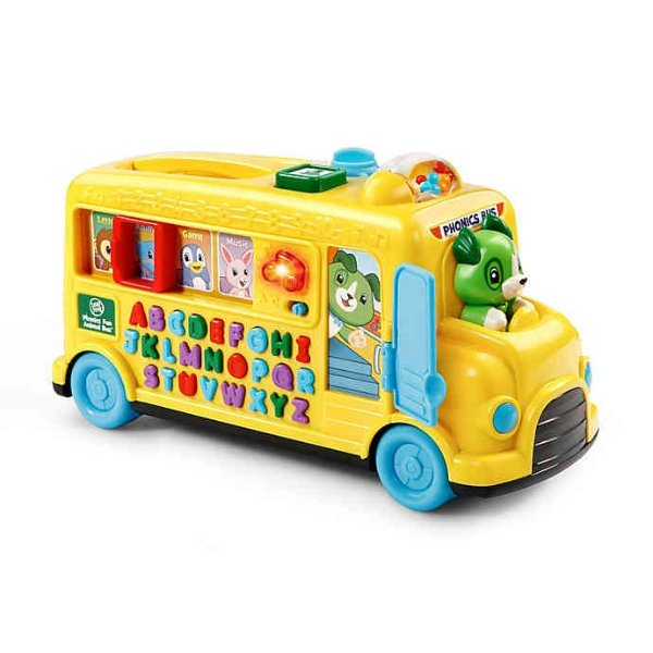 Leapfrog® Phonics Fun Animal Bus 拼读认知小车玩具