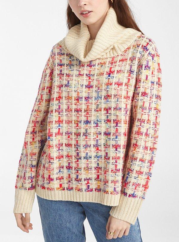 Pepaloves 高领针织毛衣