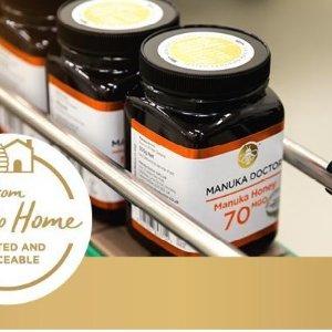 晒单抽奖+无门槛9折+折扣区可叠加Manuka Doctor 情人节独家 送你的Honey最甜的Honey