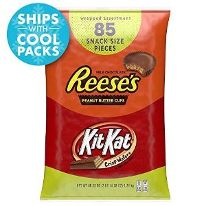 $11.59REESE'S and Kit Kat Bulk Candy, Individually Wrapped, 85 pieces