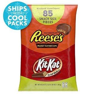 现价$11.59 (原价$14.49)Kit Kat 巧克力棒综合装 85颗