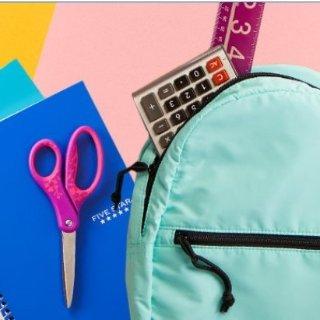 10色Crayola水彩笔$0.97Walmart 返校用品热卖,铅笔 橡皮等一站式购齐