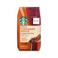Starbucks 肉桂焦糖口味 轻度烘焙咖啡粉 11oz