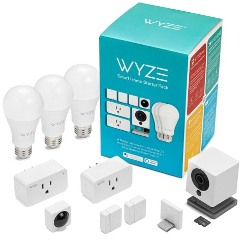 $69Wyze Smart Home Starter Bundle