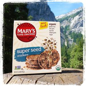 8折优惠Mary's Organic Crackers 有机薄脆谷物饼干 多种口味
