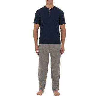 只要$9(原价$20)Walmart 精选男士长袖长裤睡衣促销