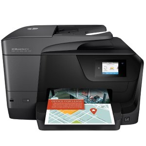 $99.99HP Officejet Pro 8715 无线彩色多功能打印机