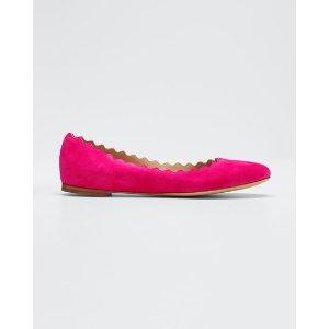 ChloeLauren Scalloped 花瓣鞋