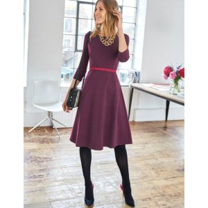 ae48ca5a603 BodenIrene Ponte Dress (Black Forest).  105.00  150.00. Boden Irene ...