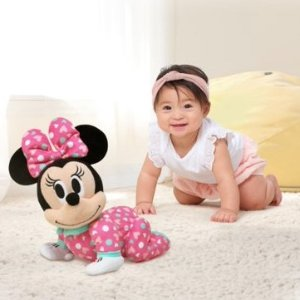 Disney Baby Musical Crawling Pals Plush Minnie Mouse Walmart