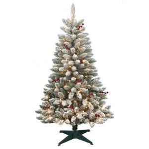 $29.99DONNER & BLITZEN 4.5英尺圣诞树 带200个led灯