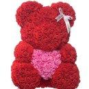 浪漫玫瑰花熊$124.5包邮甜蜜七夕 给她意想不到的惊喜