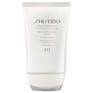 Urban Environment UV Protection Cream Broad Spectrum SPF 40 For Face/Body - Shiseido | Sephora