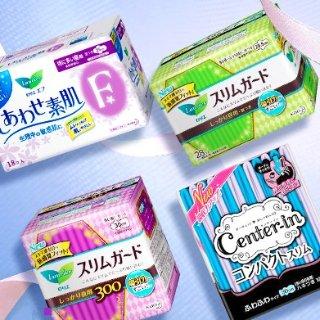 超值套装  立享免邮中国祖鹅mm代言,日本原装 花王乐而雅卫生棉,¥99任选4件
