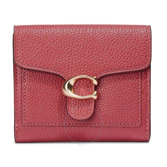 Ladies Smal红色tabby钱包