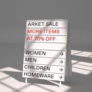 低至3折+额外8折 £16收印花半身裙Arket 夏日闪促进行中 带你感受北欧简约风设计