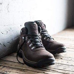 售价$59.99 (官网在售$110)Timberland 男士中帮防水徒步鞋热卖