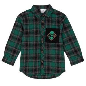 2 3 4 8 10 12男童格纹法兰绒衬衫